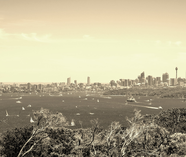 650X550 North Head Sepia