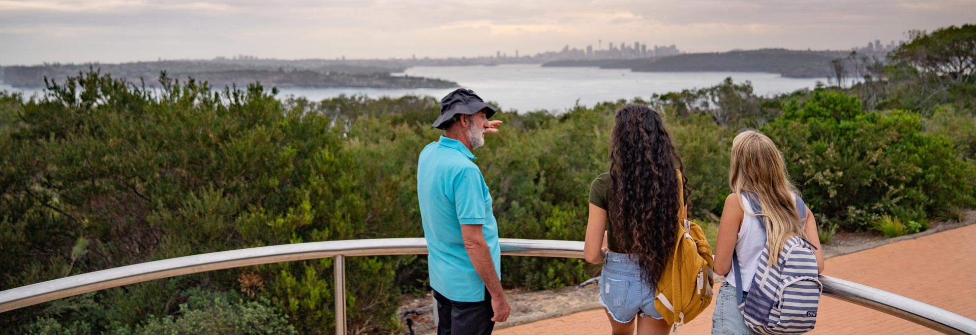 North Head Manly Tour Sydney Harbour View 1920X660