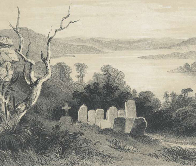 George French Angas Quarantine Burial Ground Spring Cove National Library 650X550